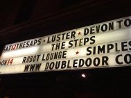 Headlining Double Door with our friends LUSTER
